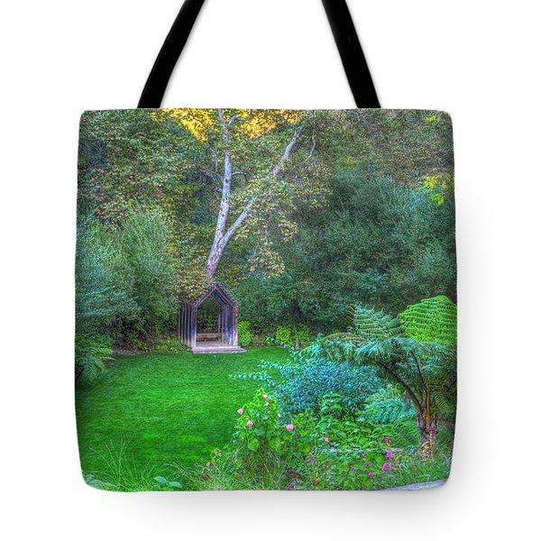 Arch Scene In The Green Tote Bag