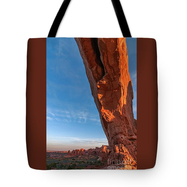 Arch View Tote Bag by Sharon Seaward