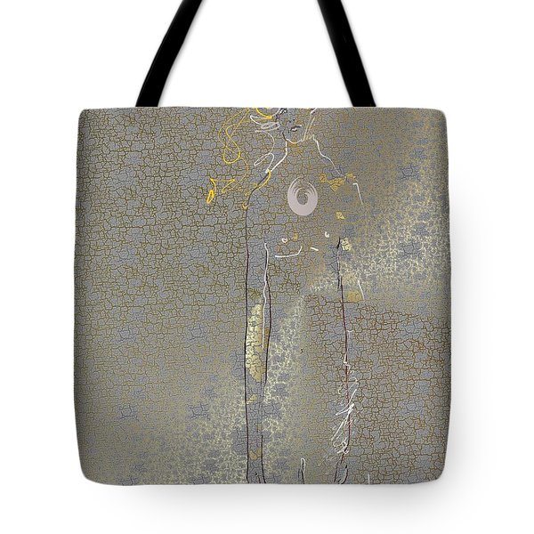 Tote Bag featuring the mixed media Archangel Barachiel  by Larry Talley