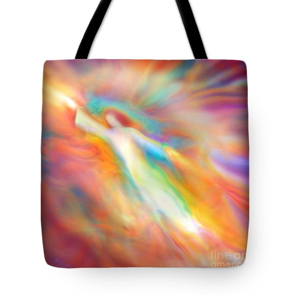Archangel Jophiel Illuminating The Ethers Tote Bag