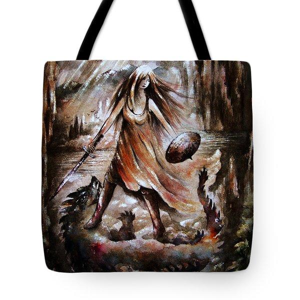 Archangel Tote Bag by Rachel Christine Nowicki