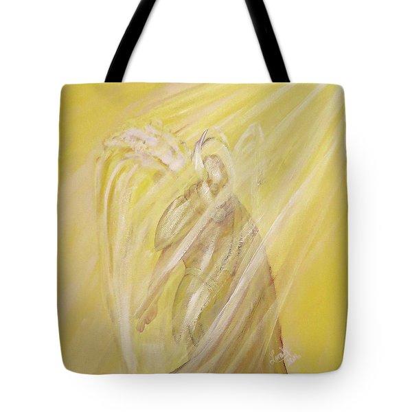 Archangel Uriel - Light Of God Tote Bag