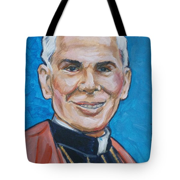 Archbishop Fulton J. Sheen Tote Bag