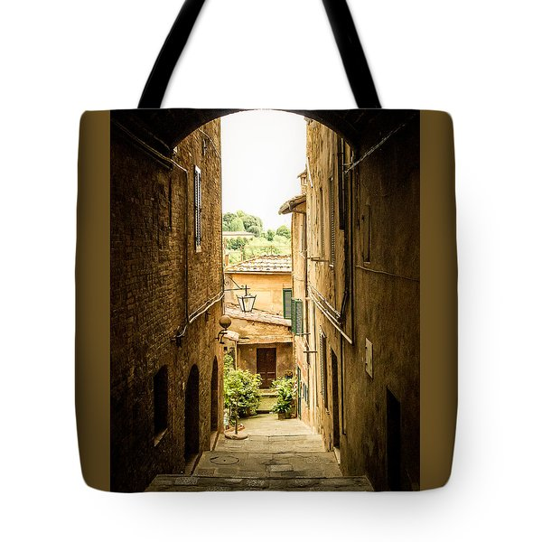 Arched Alley Tote Bag
