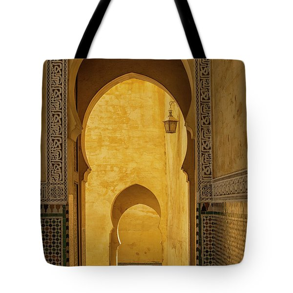 Arched Doors Tote Bag