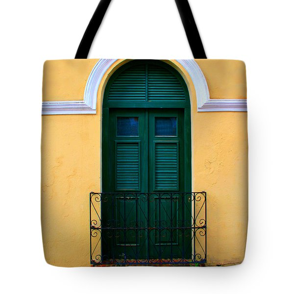 Arched Doorway Tote Bag by Perry Webster