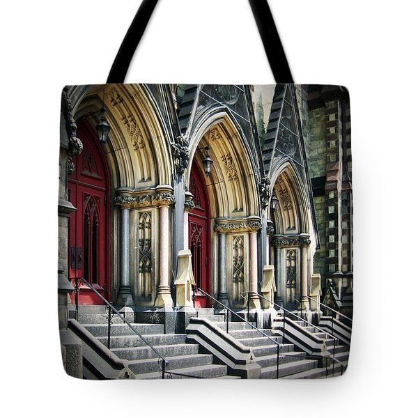 Arched Doorways Tote Bag