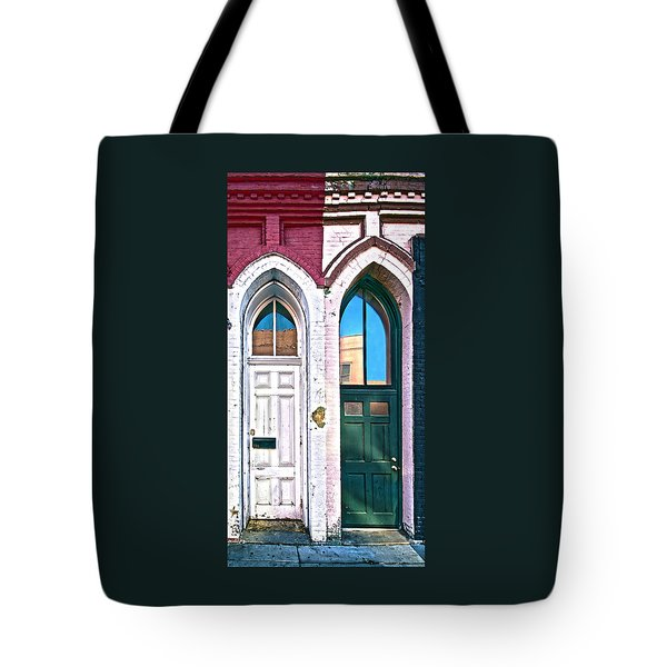 050 - Door One And Door Too Tote Bag