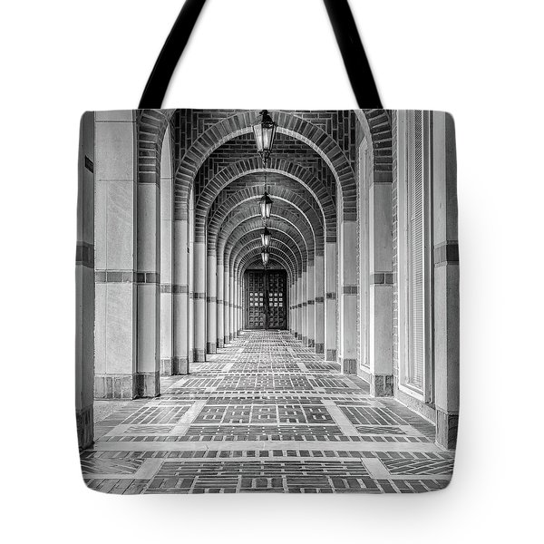 Arched Walkway Tote Bag