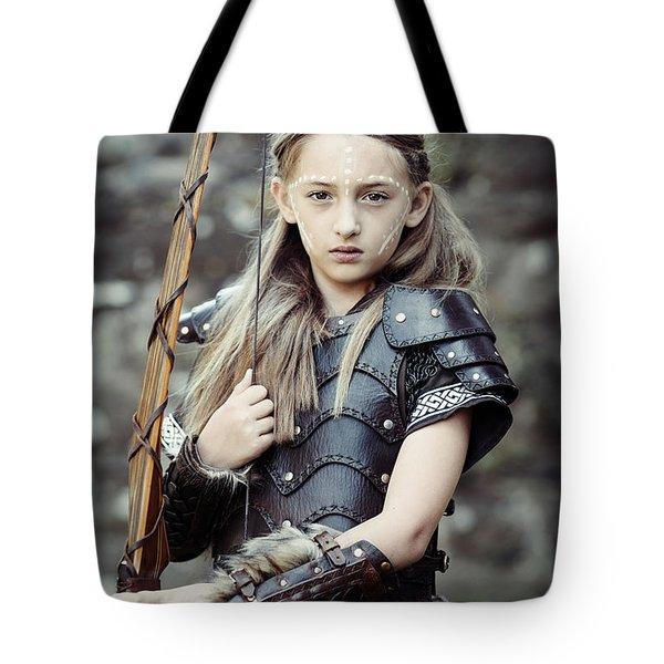 Archer Girl Tote Bag