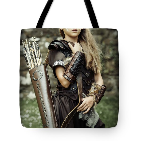 Archer Warrior Tote Bag