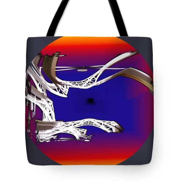 Arches 2 Tote Bag by Tim Allen