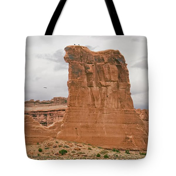 Arches La Sal Viewpoint 1 Tote Bag