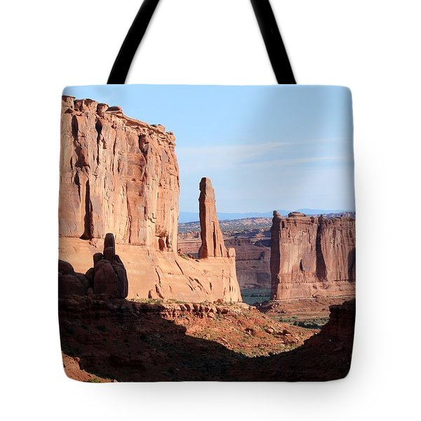 Arches Morning Tote Bag
