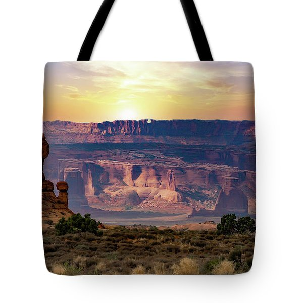 Arches National Park Canyon Tote Bag