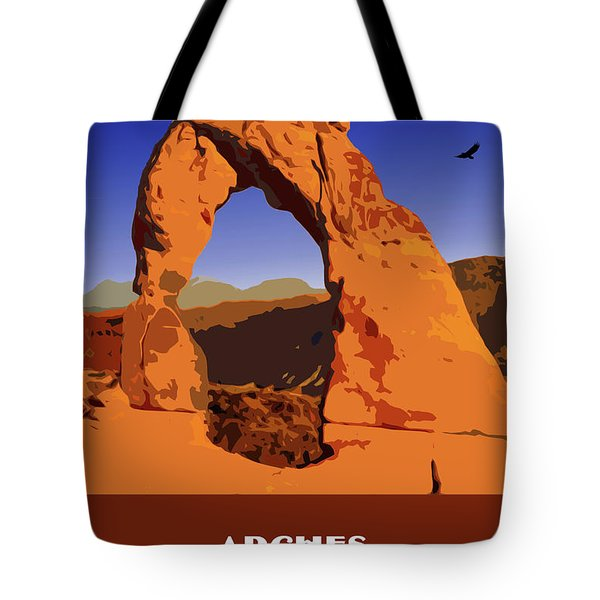 Arches National Park Tote Bag by Chuck Mountain