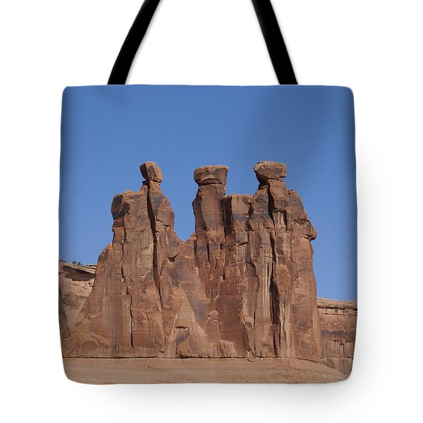 Arches National Park Tote Bag by Cynthia Powell