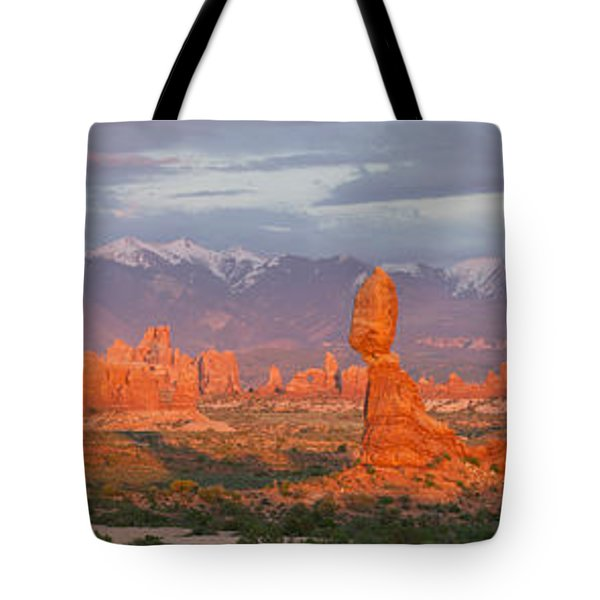 Arches National Park Sunset Tote Bag