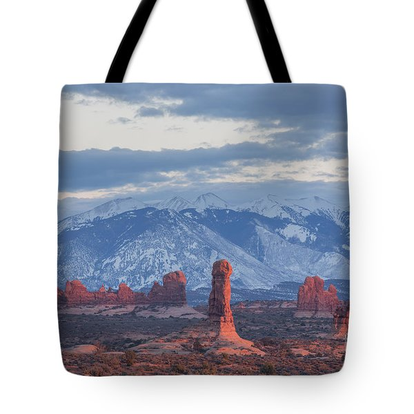 Arches National Park, Sunset Tote Bag