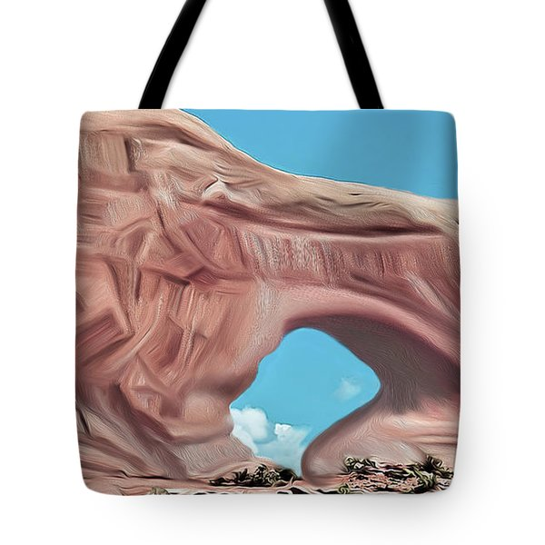 Arches National Park Tote Bag by Walter Colvin