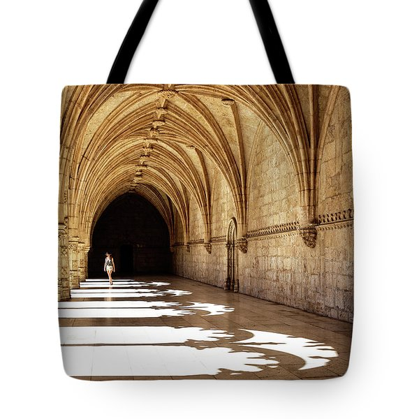 Arches Of Jeronimos Tote Bag