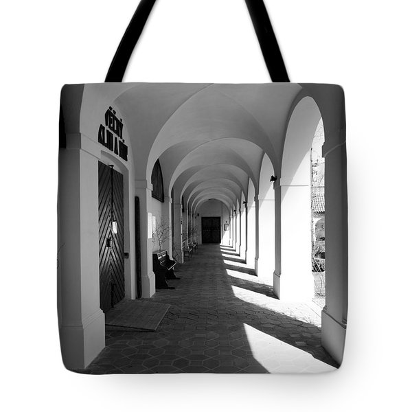 Arches Of Klokoty Tote Bag by Rae Tucker