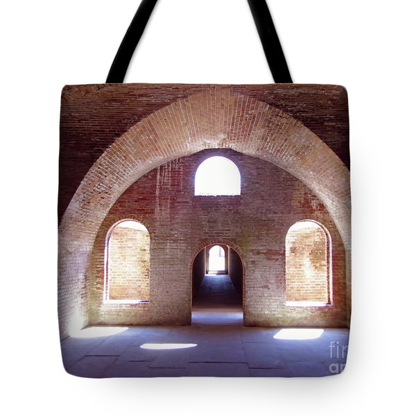 Arches Of Sunshine Tote Bag