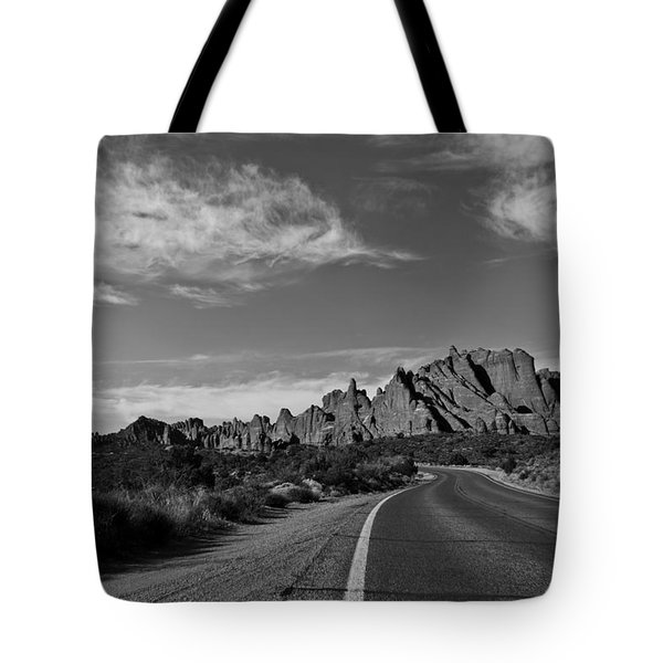 Arches Road Tote Bag