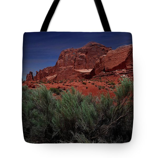 Arches Scene 3 Tote Bag