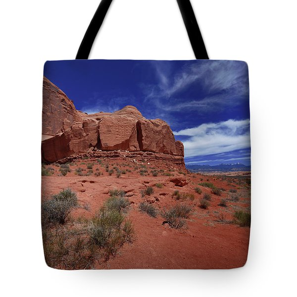 Arches Scene1 Tote Bag