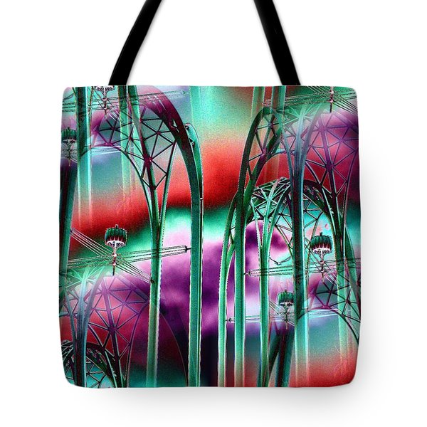 Arches Tote Bag by Tim Allen
