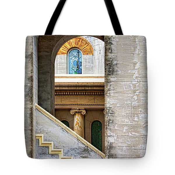Arches Within Arches Tote Bag by Christopher Holmes