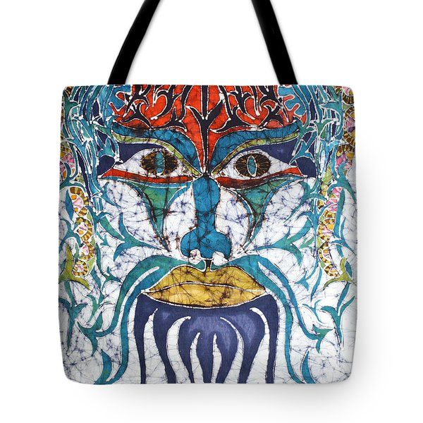 Archetypal Mask Tote Bag
