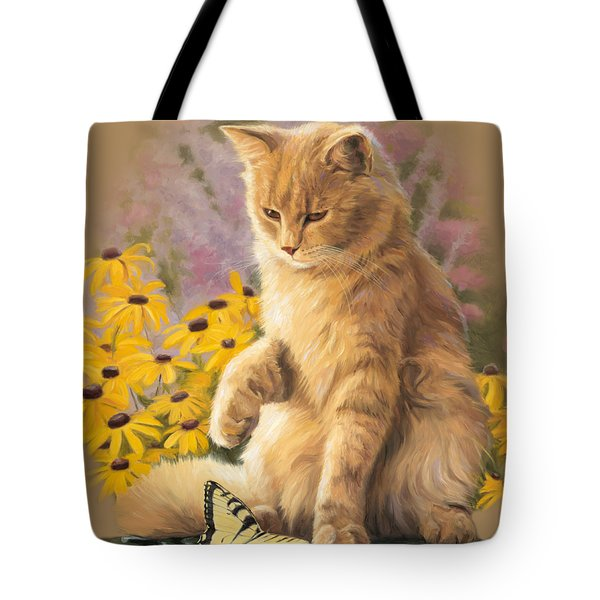 Archibald And Friend Tote Bag