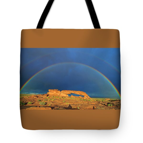 Arching Over Tote Bag