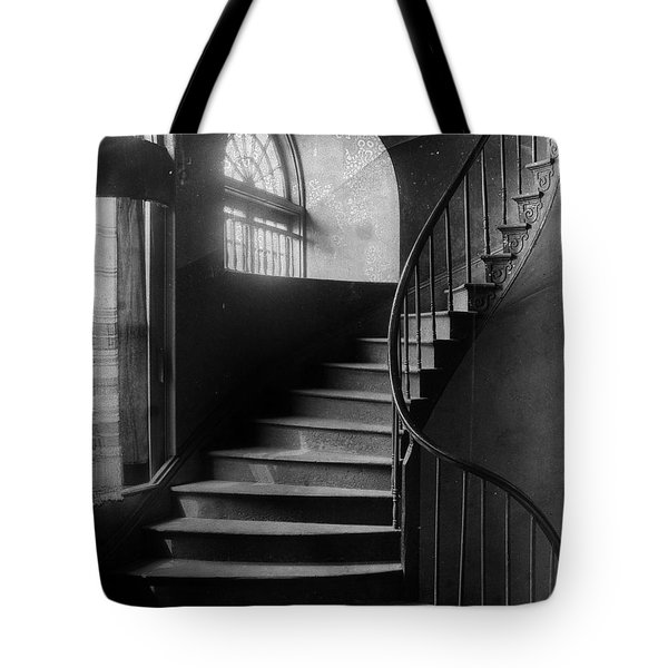 Arching Stairwell Tote Bag