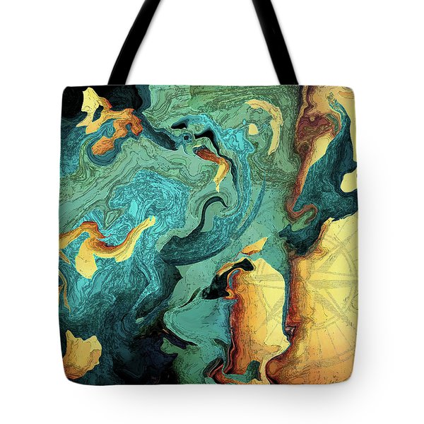 Archipelago Tote Bag by Deborah Smith