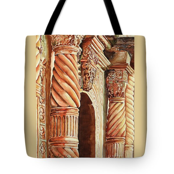 Architectural Immersion Tote Bag