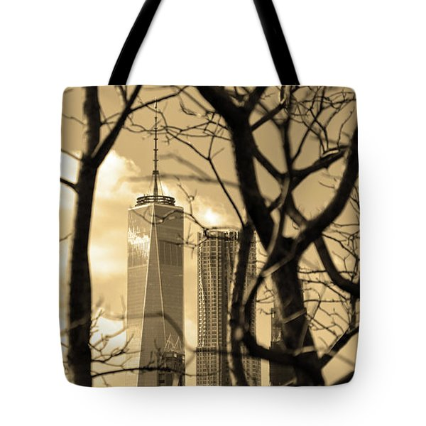 Tote Bag featuring the photograph Architectural by Mitch Cat