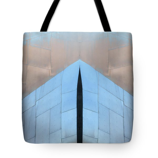 Architectural Reflections 4619k Tote Bag