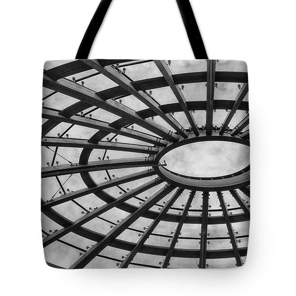 Architecture Bw 8x12 Tote Bag