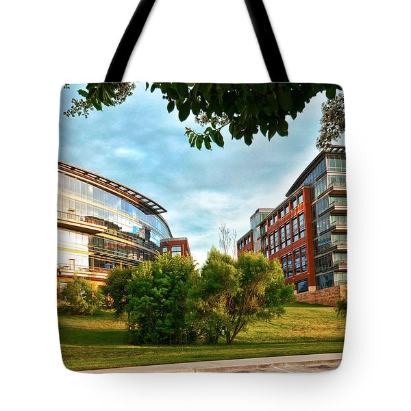 Architecture In Fort Worth Tote Bag
