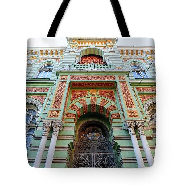 Architecture Of Odessa 3 Tote Bag
