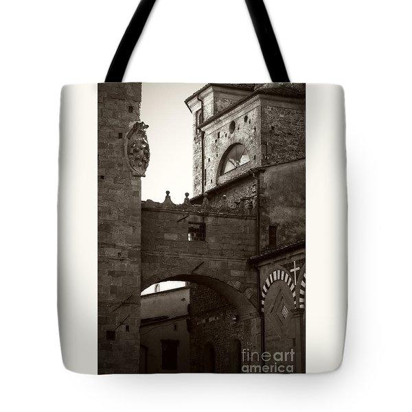 Architecture Of Pistoia Tote Bag