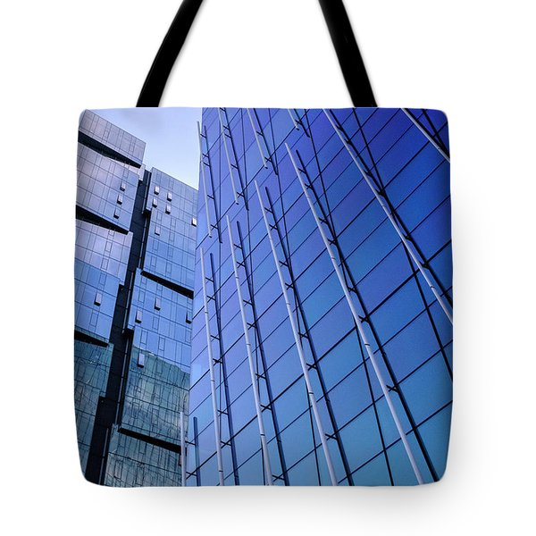 Architecture On The Streets Of Seattle Washington Tote Bag