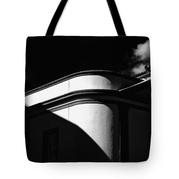 Architecture Shadow Light Game Tote Bag