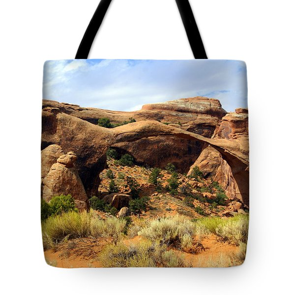 Archs 15 Tote Bag by Marty Koch