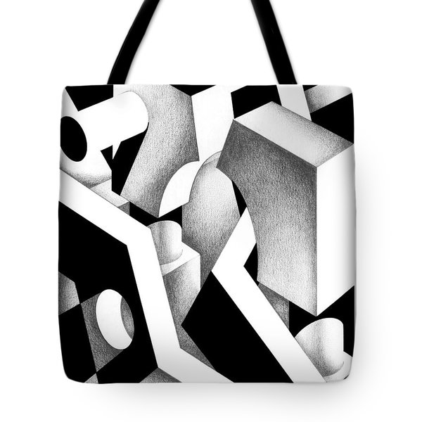 Archtectonic 9 Tote Bag