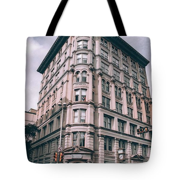 Archtectural Building 3 Tote Bag
