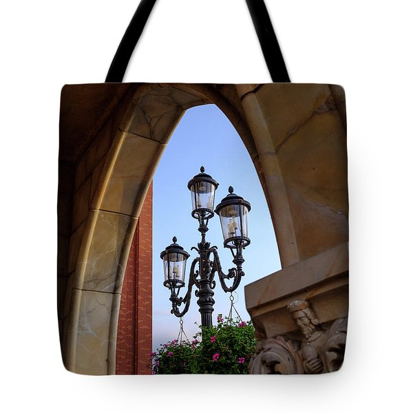 Archway And Lights In Orlando Florida Tote Bag